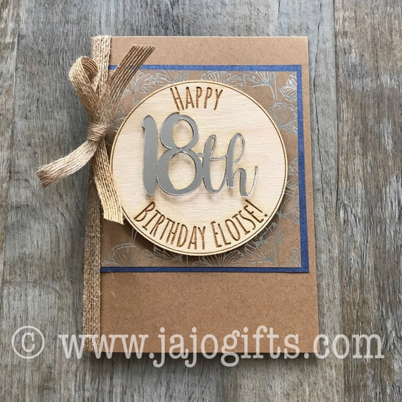 Milestone Birthday Card 18th 21st 30th 40th 50th 60th 70th