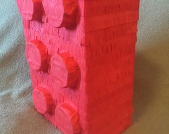 Big building block pinata