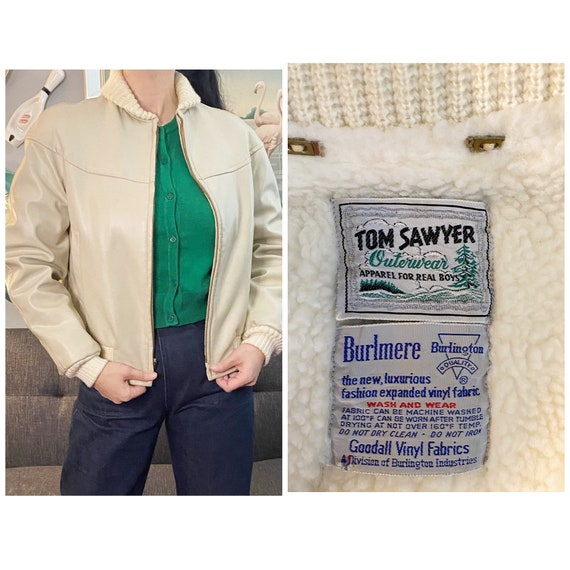Rare Vintage 1940s Tom Sawyer outerwear jacket - image 1