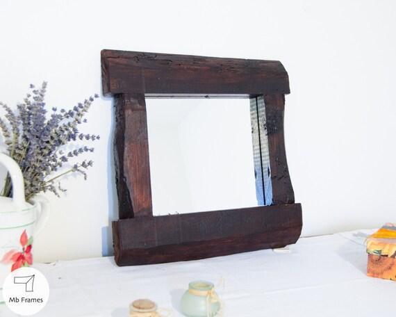 Parete specchio-rigenerata rustico-mobili specchio-specchio   Etsy