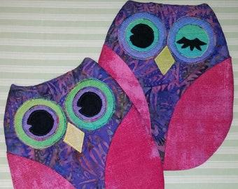 Owl Pot Holder Downloadable Pattern