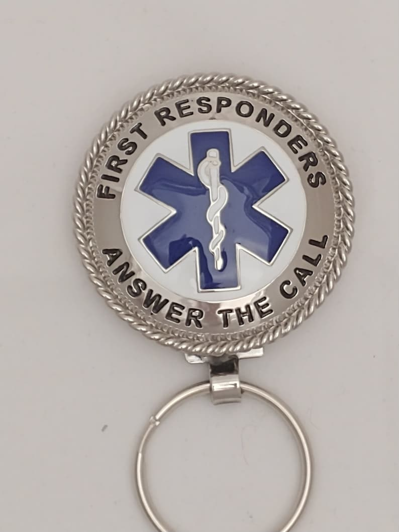 Handcrafted Key Chain for our First Responders