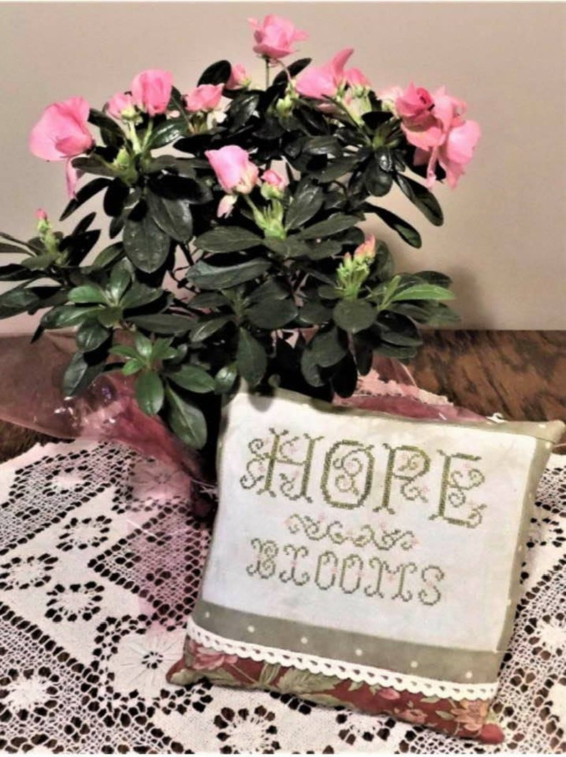 Hope Blooms by The Nebby Needle NEW at NEEDLEWORK EXPO