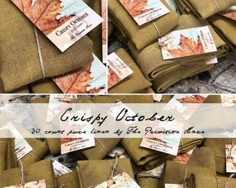 Crispy October 35 County linen - by The Primitive Hare