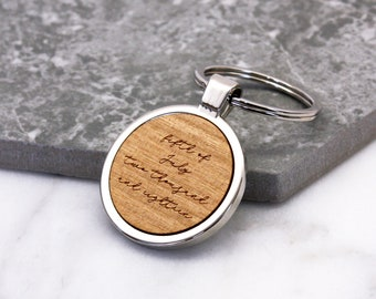 7655eb4ded96a6 Special Date Keyring, Personalised Keyring, Written Date, Date Keyring,  Special Date Gift, Personalised Written Date Bezel Keyring