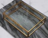 Wedding Keepsake Gift, Personalized Name Jewellery Box, Wedding Styling, Gift For The Bride, Personalised Wedding Wreath Box