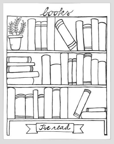 books i u0026 39 ve read bookshelf graphic organizer printable