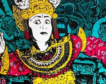 Balinese Temple Dancer, Ubud 2019