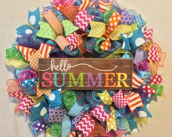 86926449003803 Bright summer wreath