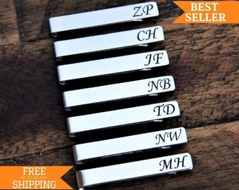 Wood Groomsman Gifts and Personalized Wedding Gifts Chick Tie Clip Gift For Him