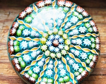 Murano Style; Poids de papier de verre; LIVRAISON GRATUITE!!!