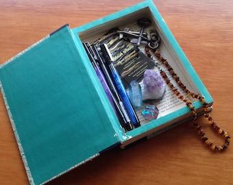 Hollow Book Safe   Book Safe  Hollowed Book   Book Box   Secret Book Box   Gift Box   Stash Box   Diversion   Secret Compartment   Vintage