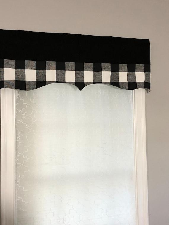 Black Valance Elegant And Modern, Black Valance Curtains