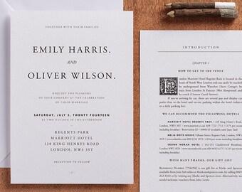 Sample Pack (druckbare Option Verfügbar)   Seiten Aus Einem Märchen    Einladung Suite   Märchen Einladung   Buch Einladung Hochzeit