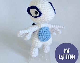 Lugia Amigurumi Crochet Pattern