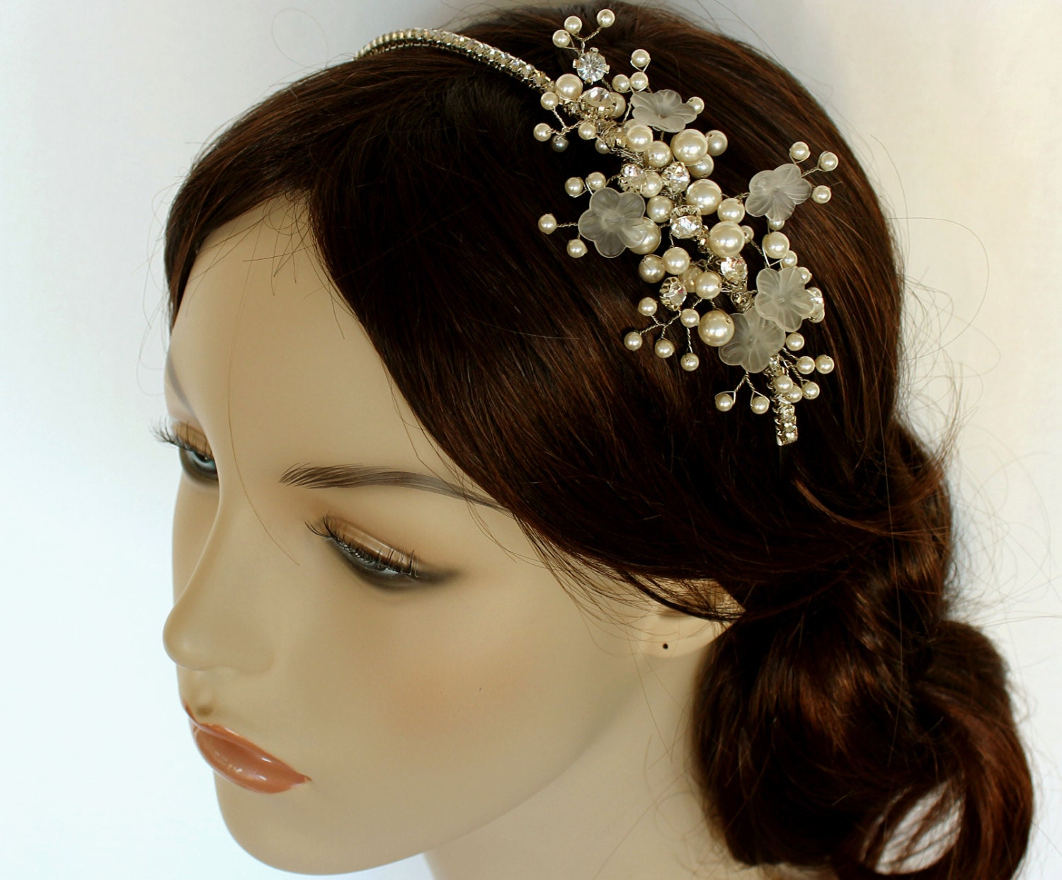 Wedding Hair Piece Bridal Headband Bridal Tiara Bridal