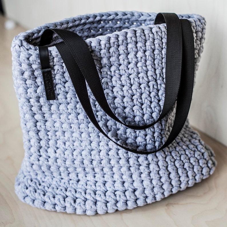 91309f60e8 Tutti i giorni Tote Bag / uncinetto borsa a tracolla / | Etsy