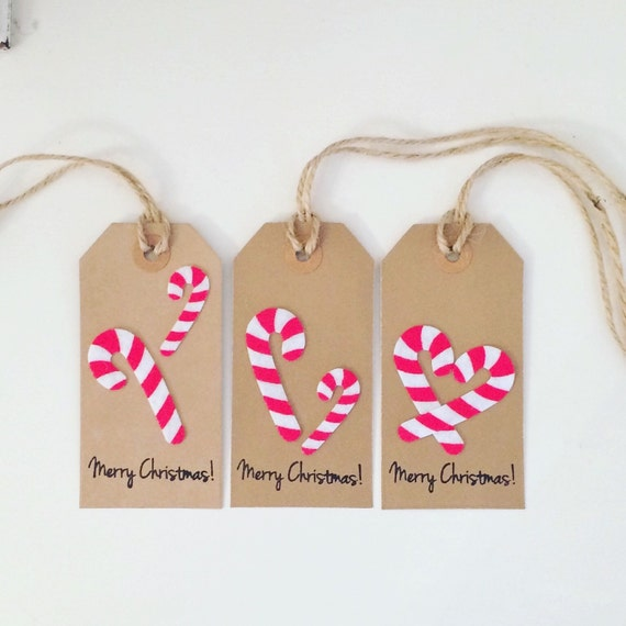 Christmas Gift Tags Ideas.Candy Cane Christmas Gift Tags Pack Of 3 Gift Wrapping Ideas Christmas Gift Tag Christmas Wrap Candy Cane Theme Gift Tag
