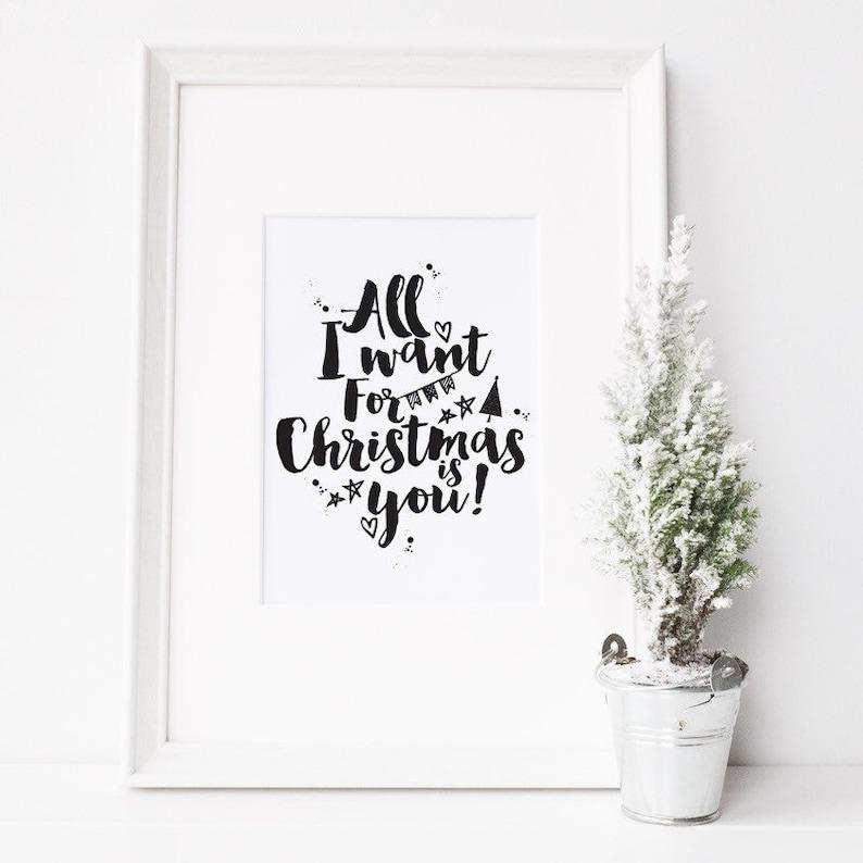 Geschenke F303274r Frauen Zu Weihnachten.Alles Was Ich Will Zu Weihnachten Ist Sie Print Liebe Zitat Druck Weihnachten Druck Weihnachts Geschenk Idee Wandkunst Weihnachten Frau