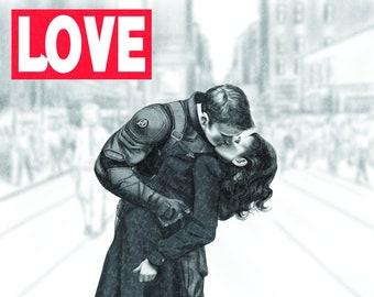 MARVEL00P - Love (11x14)