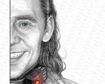 MARVEL60 - Fan Art Print - Loki (Variant)