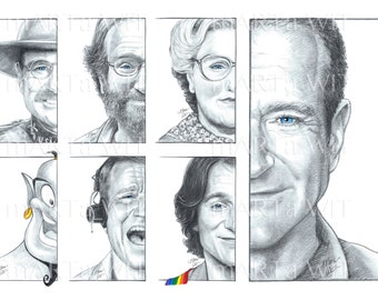 AT01P - Robin Williams Tribute (50% proceeds to charity, see description)