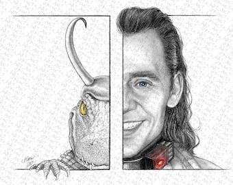 MARVEL00P - Just Us Variants - Fan Art Print (12x18)