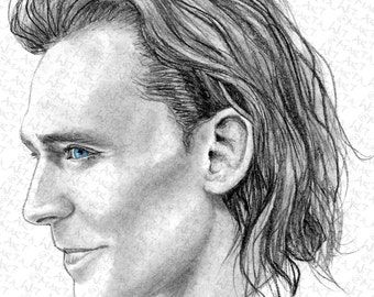 MARVEL00E - Irresistible Loki (Fanart Print)