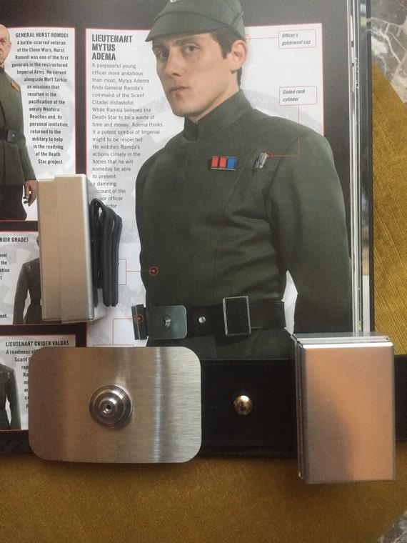 Imperial Officer Aluminum Belt Boxes Set of 2