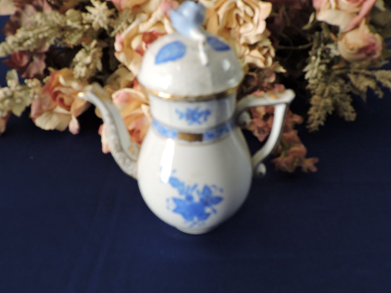 7 pcs **SMALL** Vintage Mismatched Teapots Set Floral Chintz Job Lot of 7 Tableware Mad Hatters Party Wedding Crockery Tea Room Cafe