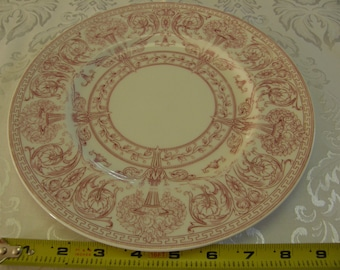 Antique Victorian Early 1900s Royal Worcester Cabinet Plate 9 inch