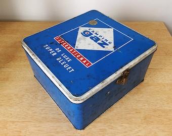 Vintage French 'De Luxe Super Bleuet' Camping Stove