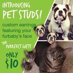 Custom Pet Studs