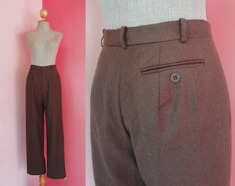 Femmes De Des Laine Vintage Large Etsy 1970 Années Pantalon qP1EBwB