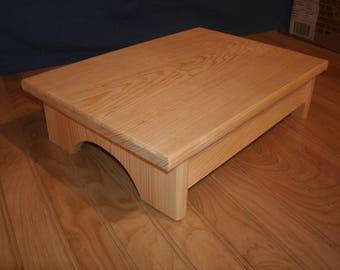 Wood Step Stool Etsy