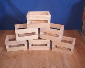 crate, mason jar crate, wood crate, wooden crate, centerpiece crate, reception centerpiece crate, wedding decor, rustic crate