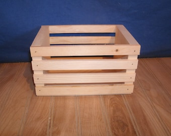 small wooden crate, wood crate, wooden crates, wood crates, centerpiece crates, wedding decor crate, wooden box