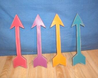 """12"""" wooden arrow,  wooden arrow wall art, Arrow, Nursery arrow, arrow decor, nursery decor, wood arrow"""