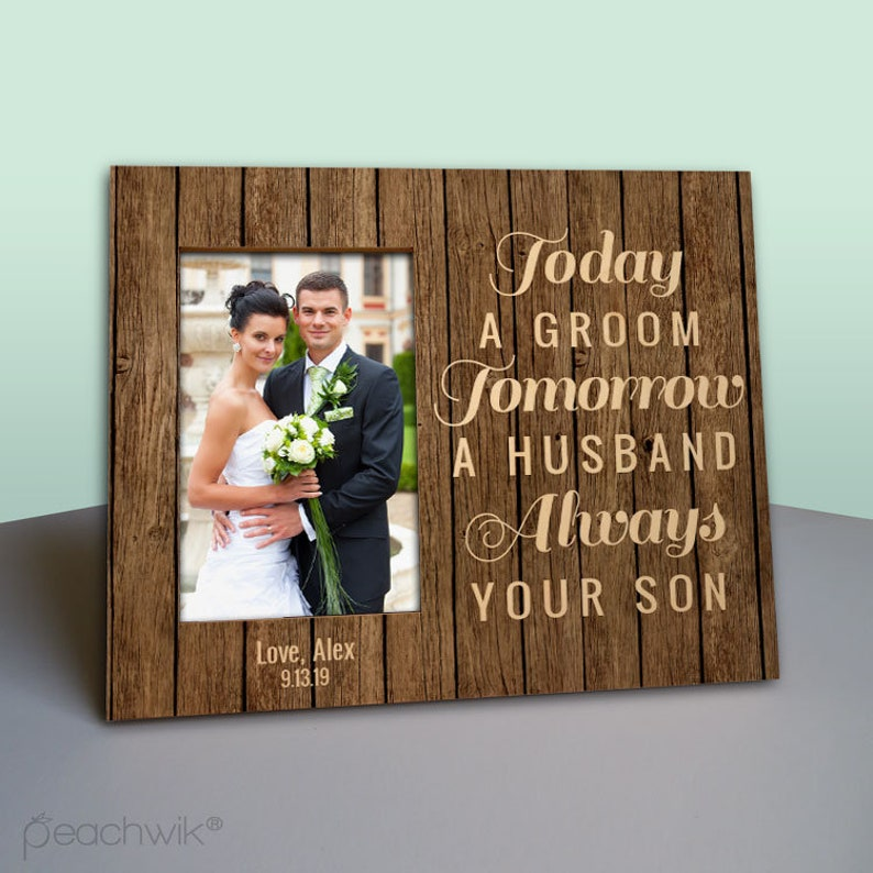 Mother of The Groom Gift  Today a Groom Tomorrow a Husband image 0