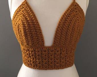 Crochet Bralette Etsy