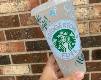 Bridgerton Fuel Starbucks Cold Cup