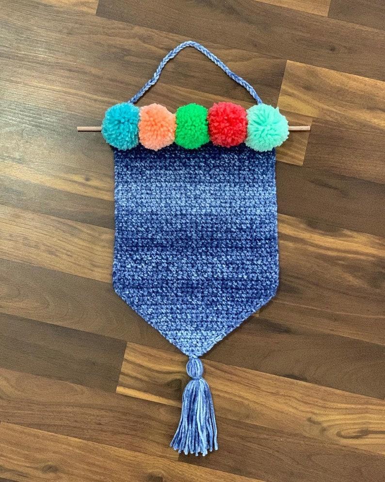 Crochet Wall Hanging//Fiber Art//Crochet Wall Decor image 0