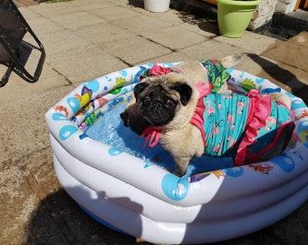 Hund Hund Badeanzug passt Medium Hund 28 Zoll Brust große Hund
