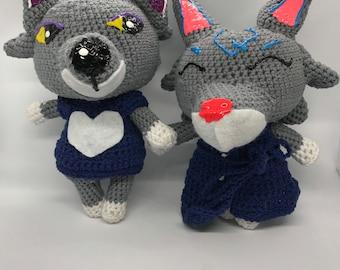 Wolf | Animal Villagers Crochet Plushie Amigurumi