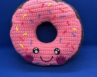 Cute Handmade Donut Pillow Plushie