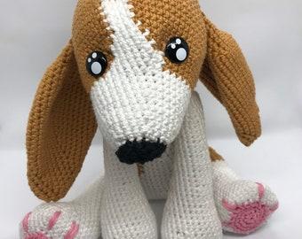 Crochet Plushie Amigurumi Dog