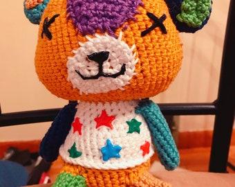 Handmade Animal Crossing Stitches Amigurumi Crochet Plushie Doll