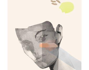 Planty | A limited edition fine art giclee print by Joanna Layla