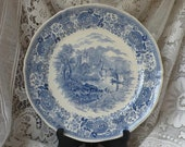 Vintage Burgenland Ceramic Plate by Villeroy and Boch
