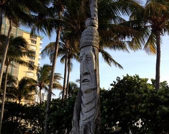 Ft. Lauderdale Statue- Photograph